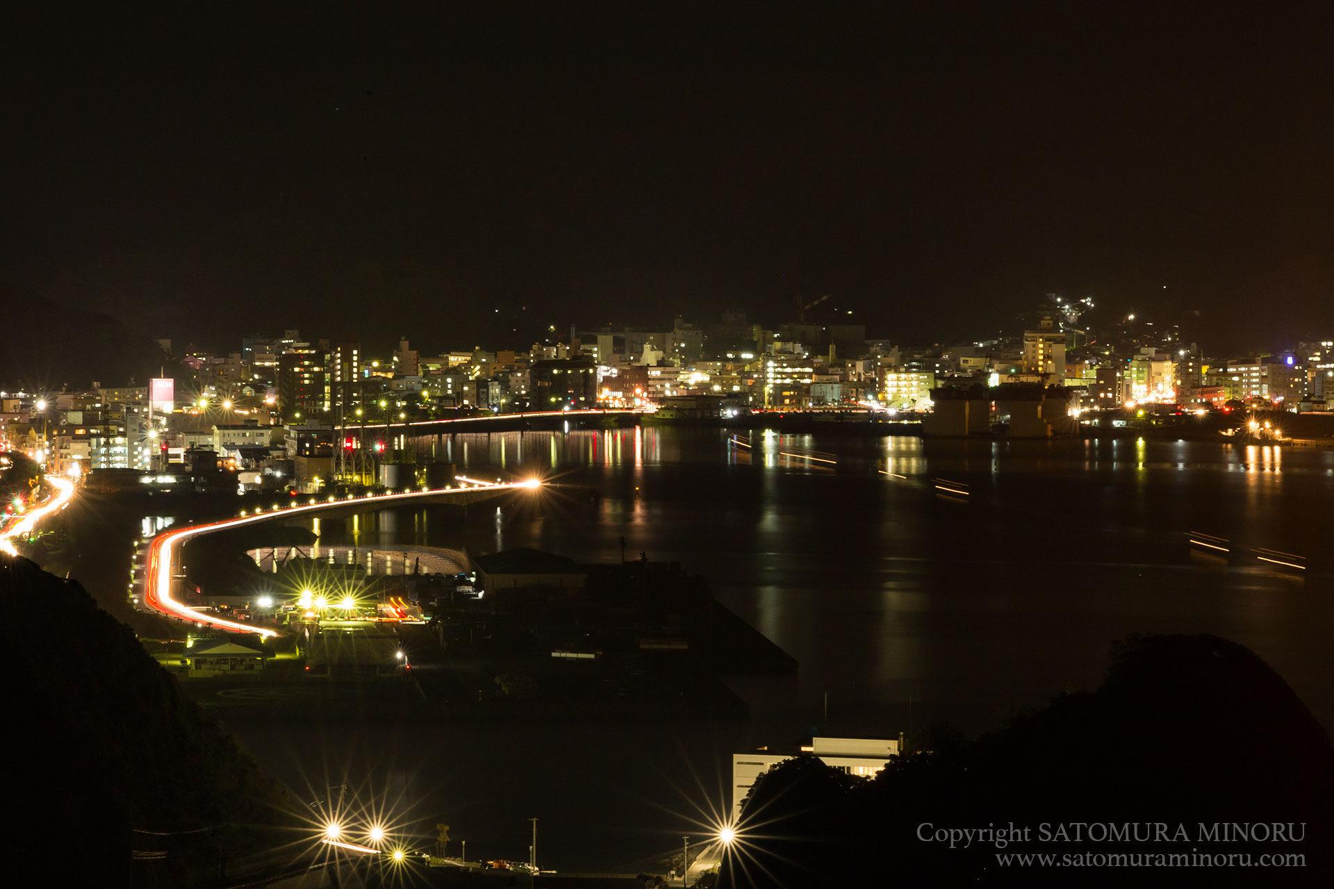 名瀬の夜景