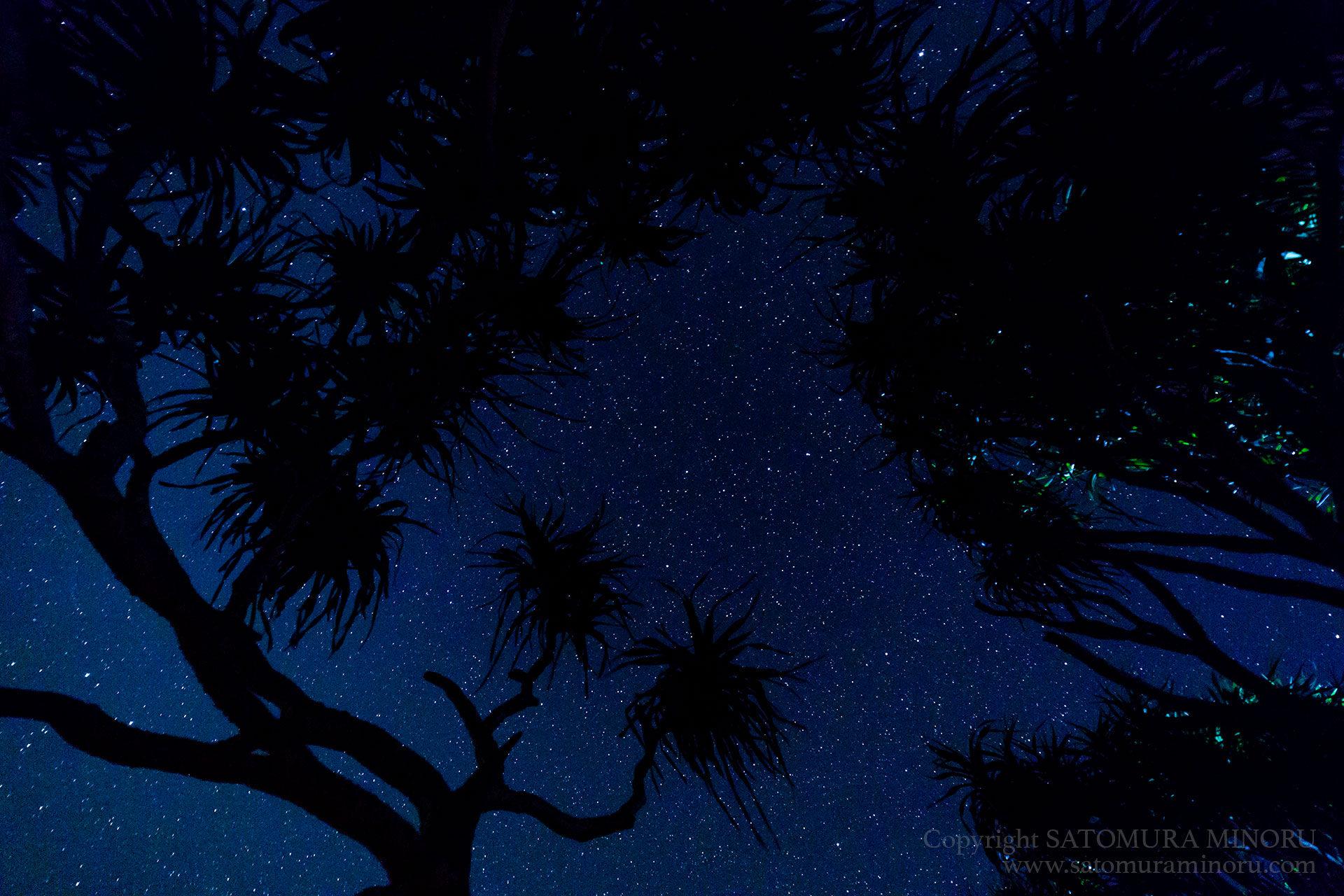 崎原ビーチの星空
