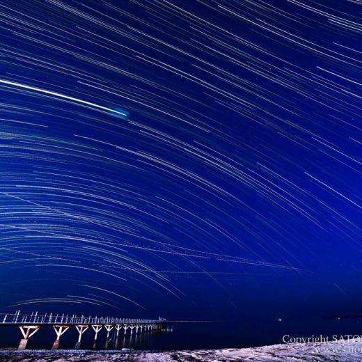 ナガンヌ島の星空