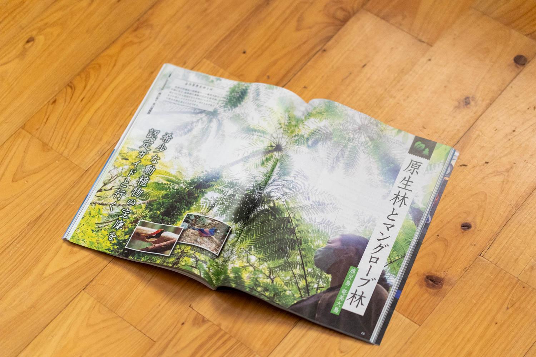 「世界遺産登録へ 南の島々、北の遺跡群」旅行読売7月号